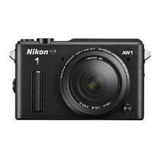 Фотоаппарат NIKON 1 AW1 kit ( 1 NIKKOR AW 11–27.5mm f/3.5–5.6), черный [vva201k001]