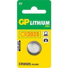 Батарейка GP Lithium 1 шт. CR2025