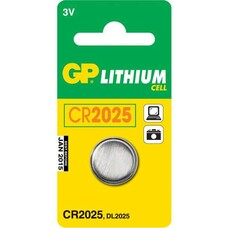 Батарея GP Lithium 1 шт. CR2025 [GP CR2025-8C1]