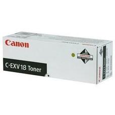 Тонер CANON C-EXV18 (GPR-22), для iR1018/1022, черный, 465грамм, туба [0386b002]