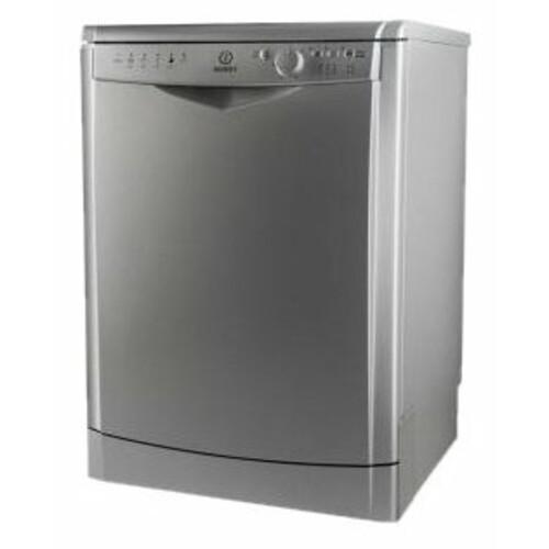 Посудомоечная машина INDESIT DFG 26B1 NX EU, полноразмерная, серебристая