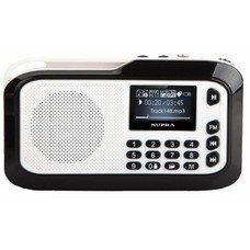 Аудиомагнитола SUPRA PAS-3909,  серебристый