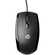 Мышь HP X500 оптическая проводная USB, черный [e5e76aa]