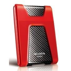 Внешний жесткий диск A-DATA DashDrive Durable AHD650-1TU3-CRD, 1Тб, красный