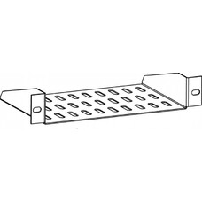 """Полка стац. ЦМО (МС-15-10) 10"""" серый (упак.:1шт)"""