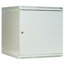 Шкаф коммутационный ЦМО (ШРН-Э-6.500.1) 6U 600x520мм пер.дв.стал.лист несъемн.бок.пан. серый