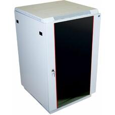 Шкаф коммутационный ЦМО (ШТК-М-22.6.8-1ААА) 22U 600x820мм пер.дв.стекл задн.дв.стал.лист 2 бок.пан.