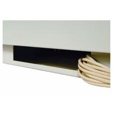 Шкаф коммутационный ЦМО ШТК-М-27.6.8-1ААА 27U 600x820мм пер.дв.стекл задн.дв.стал.лист 2 бок.пан. направл.под закл.гайки 400кг серый