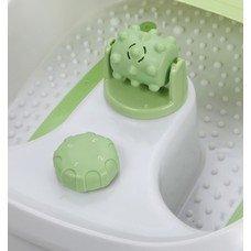 Гидромассажная ванночка для ног SUPRA FMS-101, белый, зеленый [5970]