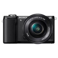 Фотоаппарат SONY Alpha A5000LB kit ( E PZ 16-50 мм F3.5-5.6 OSS), черный [ilce5000lb.cec]
