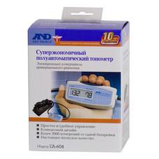 Тонометр полуавтоматический A&D UA-604, (без адаптера питания), 22-32см [I00003]