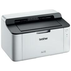 Принтер лазерный BROTHER HL-1110R лазерный, цвет: белый [hl1110r1]