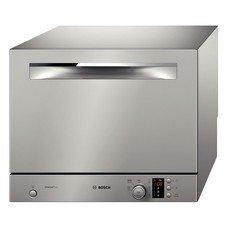 Посудомоечная машина BOSCH SKS 62E88RU, компактная, серебристая [sks62e88ru]