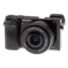 Фотоаппарат SONY Alpha A6000LB kit ( E PZ 16-50мм f/3.5-5.6 OSS), черный [ilce6000lb.cec]