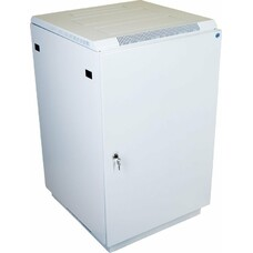 Шкаф коммутационный ЦМО (ШТК-М-18.6.6-3ААА) 18U 600x620мм пер.дв.металл задн.дв.стал.лист 2 бок.пан.