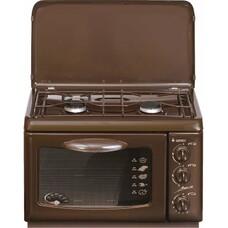 Газовая плита GEFEST ПГ 100 K19, газовая духовка, коричневый