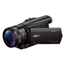 Видеокамера SONY FDR-AX100, черный, Flash [fdrax100eb.cee]