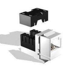 Модуль информационный Brand-Rex GigaPlus UTP GPCJAKU013LF Keystone RJ45 кат.5e белый