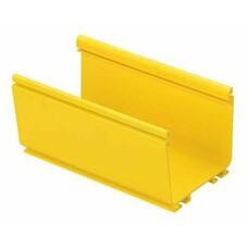 Основание короба Panduit FR4X4YL2 FiberRunner 4X4 128.3x112.8мм желтый 2м