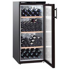 Винный шкаф Liebherr WKb 3212 Vinothek черный (однокамерный)