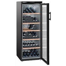 Винный шкаф LIEBHERR WKb 4212, однокамерный, черный