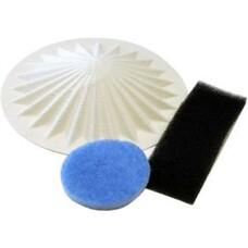Набор фильтров FILTERO FTM 10, для пылесосов VAX: 1000, 1200, 1700, 1800, 2000, 2001, 2100, 2300, 2301, 2500, 4000 Powa, 4001 Powa, 5000 Rapide, 5100 Rapide, 5110 Rapide, 5120 Rapide, 1 конусный фильтр уровня микрофильтрации +