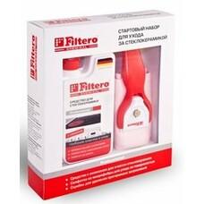 Чистящий набор FILTERO Арт.204, для стеклокерамики