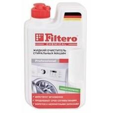 очиститель от накипи FILTERO Арт.601, для посудомоечных и стиральных машин, 200мл