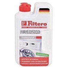 очиститель от накипи FILTERO Арт.902, для стиральных машин, 1шт, 250мл