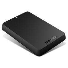 Внешний жесткий диск TOSHIBA Canvio Basics HDTB305EK3AA, 500Гб, черный