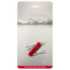 Складной нож VICTORINOX Classic, 7 функций, 58мм, красный [0.6223.b1]