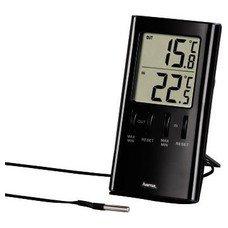 Термометр HAMA Т-350 H-123143, черный [00123143]