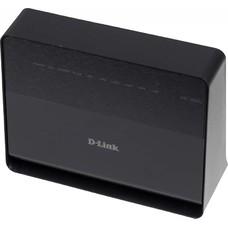 Беспроводной маршрутизатор D-LINK DSL-2650U/RA/U1A, ADSL2+, черный