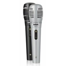 Микрофон BBK CM215, черный/серебристый