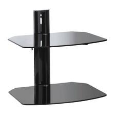 Кронштейн-подставка KROMAX R-Duo, для DVD и AV систем, 8кг, черный