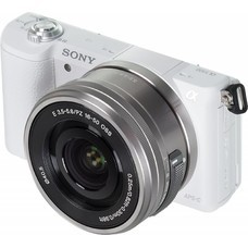 Фотоаппарат SONY Alpha A5100 kit ( E PZ 16-50mm f/3.5-5.6 OSS), белый [ilce5100lw.cec]