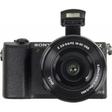 Фотоаппарат SONY Alpha A5100 kit ( E PZ 16-50mm f/3.5-5.6 OSS и E 55-210mm f/4.5-6.3 OSS), черный [ilce5100yb.cec]