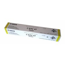 Тонер CANON C-EXV47Y, для iR-ADV С351iF/C350i/C250i, желтый, туба