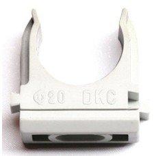 Держатель DKC 51025 с защелкой, д.25мм серый (упак.:1шт)