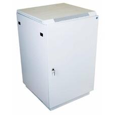 Шкаф коммутационный ЦМО (ШТК-М-27.6.6-3ААА) 27U 600x620мм пер.дв.металл задн.дв.стал.лист 2 бок.пан.