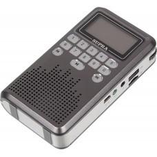 Радиоприемник SUPRA PAS-3907, серый