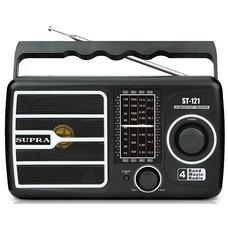 Радиоприемник SUPRA ST-121, черный