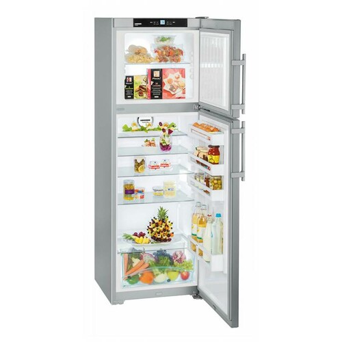 Холодильник LIEBHERR CTPesf 3016, двухкамерный, серебристый