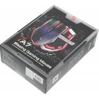 Мышь A4 Bloody A7 Blazing оптическая проводная USB, черный