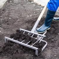 Чудо лопата (рыхлитель) Крот М Кованный 42 см, кованые усиленные зубья + Черенок.