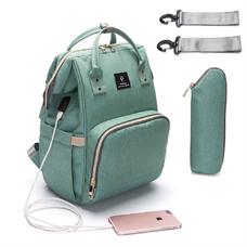 Рюкзак для мамы с USB-кабелем